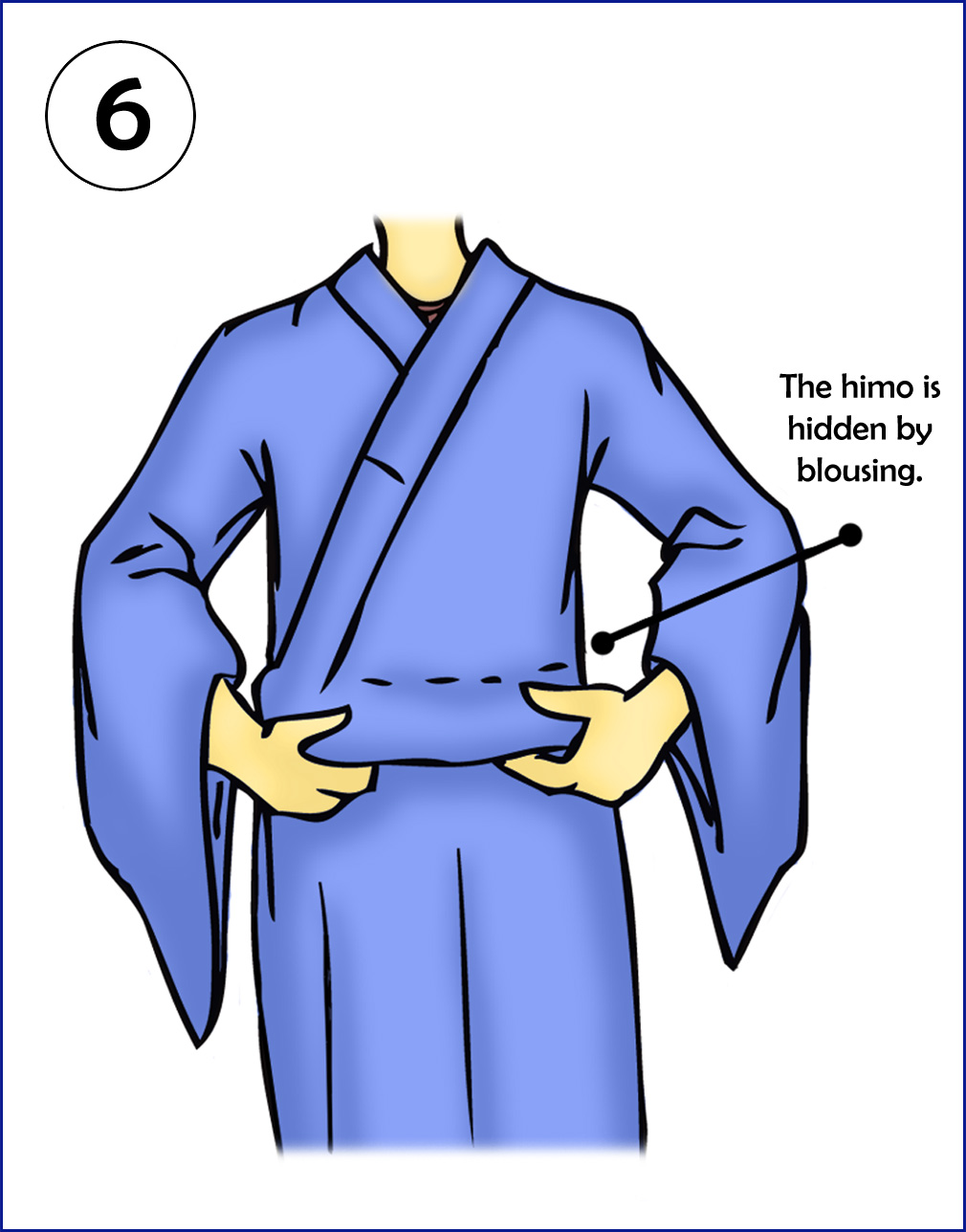 Fashion style How to yukata wear step by step for lady