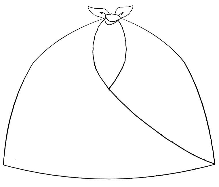 Japanese Large Knot Bag Pattern Kit H-0917 – Tangerine